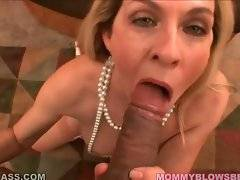 Nasty milf eagers to taste dude`s fresh spunk.