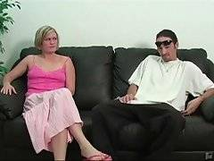 Pretty blonde wifie faces her husband`s irresponsibility.