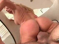 In this hardcore porn video you can see lovely babe