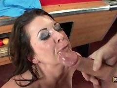 This horny doll with big cock is having nonstop fuck