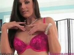 Awesome mature brunette India Summer is always ready for fun.