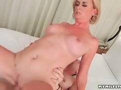Brave Camryn Cross is having deep fuck with her daddy