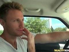 Levi Cash spots pretty milf roadside and he`s going to to his best to pick her up.