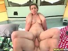 Attractive mature blonde greatly enjoys vigorous cock riding.